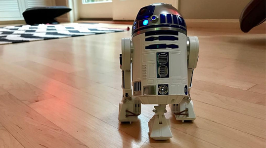 App enabled R2-D2 Sphero droid