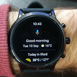 Fossil Smartwatch Gen 5 Google Assistant