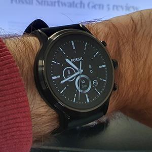 Fossil Smartwatch Gen 5 watchface